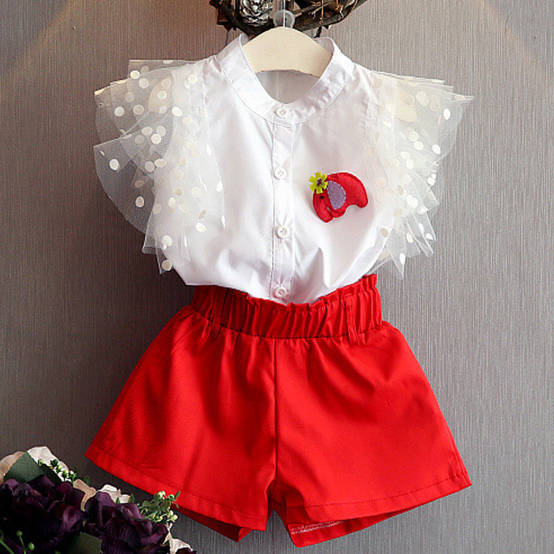 Female Children'S Clothing Fashionable Girl Clothes In The Summer Of 2017 Children Dress Shirt + Shorts Girl'S Clothes 2pc3-7y measles immunity status of children in kano nigeria