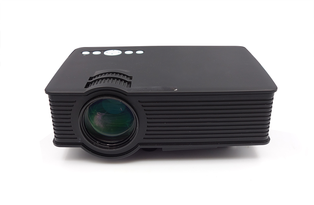 2015 Newest HD LED LCD Projector Black GP9 Mini Projektor Game Beamer Home Theater HDMI AV USB SD
