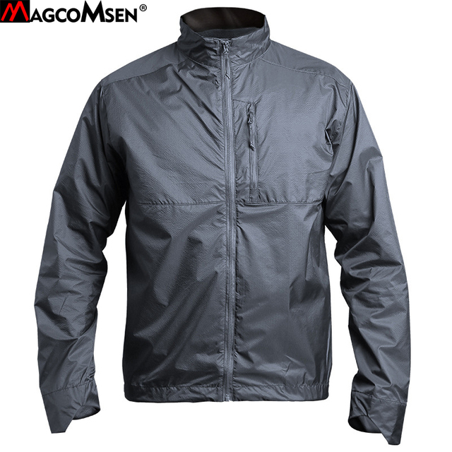 92e9776bc211e MAGCOMSEN Mens Jackets Summer Thin Camouflage Tactical Jackets Military Army  Quick Drying Waterproof Combat Coats Outwear JLTX-2