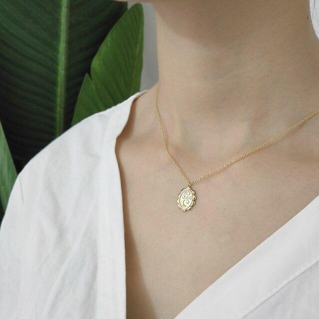 925 sterling silver star pendenti luna collana trendy elemento di design selvaggio collana per le donne 2018 monili di fascino souvenir