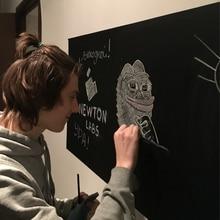60*200 см наклейки на стену доска детская игрушка для рисования виниловая меловая доска краски Мел краски стены