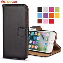 For iPhone 6 5S Flip Case 6S SE 5C 5 XR XS Max Leather Wallet Phone Bag Accessories For Apple iPhone X 8 7 Plus Case Cover Coque(China)