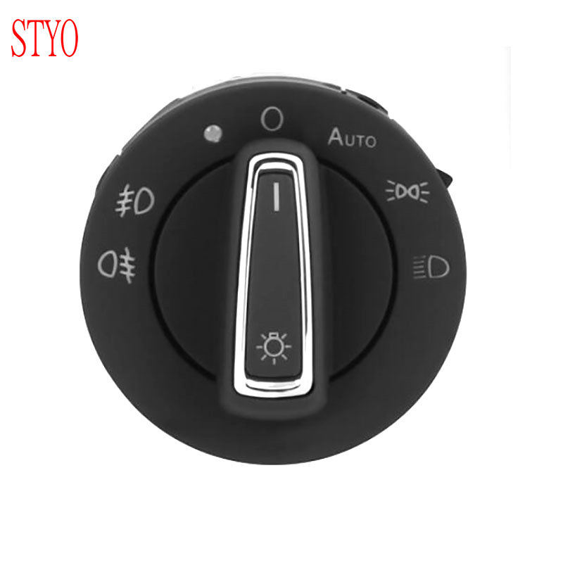 STYO New Design AUTO Headlight Switch Support Coming Leaving Home for VW GOLF 7 7 5