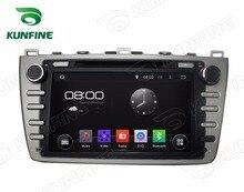 Octa Core Android 6.0 Coches Reproductor de DVD de Navegación GPS Multimedia Coche estéreo para MAZDA 6 2008-2012 Dispositivo de Radio Navi Headunit P5