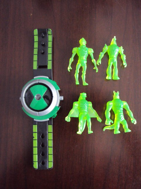 Free Shipping 10 Pcs BEN10 OMNITRIX PROJECTOR Young Hacker Watch In Childrens Watches From