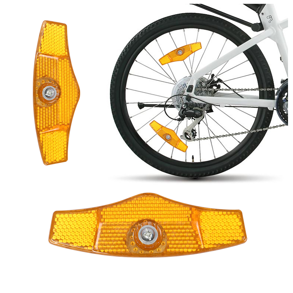 1PCS Bicycle Handlebar Reflector Bike Reflective Front Rear Warning LTPIPTH-3