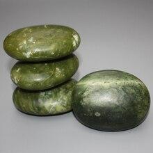 Натурального оливкового зеленый мраморный камень СПА-массаж для лица красоты расслабиться здоровье тела reiking чакра исцеление камень здоровья инструмент