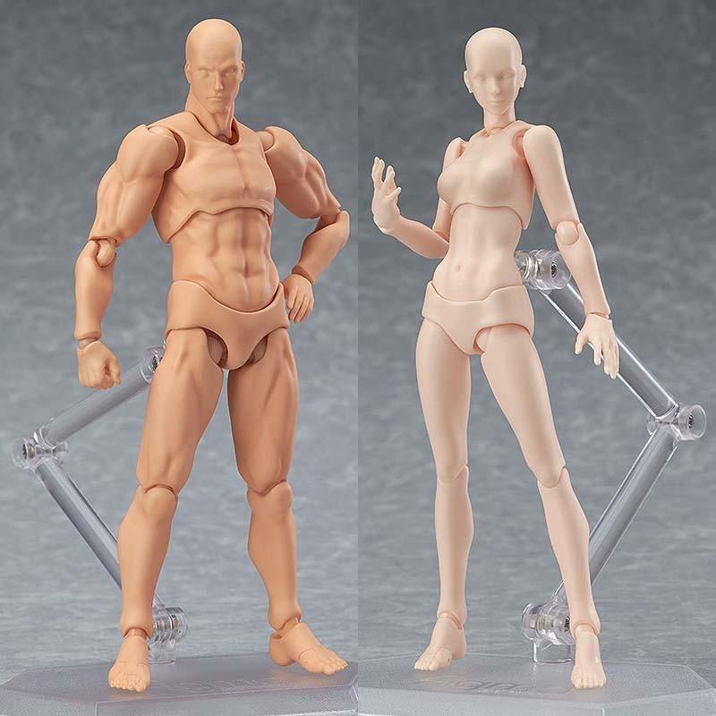 6 Types 2 Colors SHFiguarts Body Chan Body Kun Black Skin Color Ver PVC Action Figure Collectible Model Toy (16)