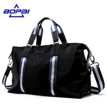 Bopai новое прибытие оксфорд водонепроницаемый сумки для мужчин большой емкости портативных плечо сумки мужские дорожные сумки для путешествий пакет