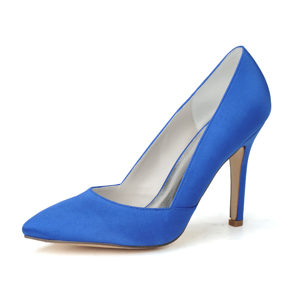 Popular Satin Blue Pumps-Buy Cheap Satin Blue Pumps lots from ...