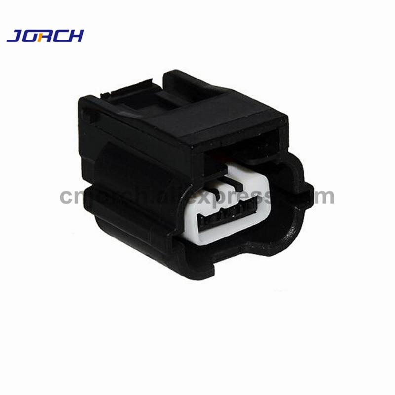 5sets 3pin Honda Headlamp Ballast Plug Auto Waterproof Cable Wire Connector 7283-8852-30