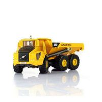 High Simulation 1 87 Scale Engineering Vehicle Diecast Six Wheel Truck Loading And Unloading Hinge Project