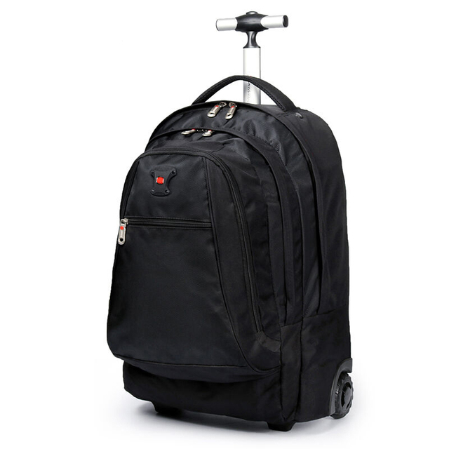 BeaSumore Multi-function Travel Bag Trolley Case Shoulder Backpack Rolling Luggage 20 inch Men Carry On Trunk Suitcase Wheel