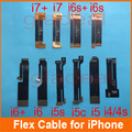 Pantalla lcd táctil digitalizador lente extened flex cable tester para iphone 4/4S 5 5S 5c 6 6 s + 7 7 + Herramienta de Reparación de la Máquina