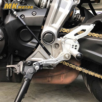 Motorcycle Accessoris For Yamaha MT 07 CNC Adjustable Rear Set Rearsets Footrest For YAMAHA MT 07