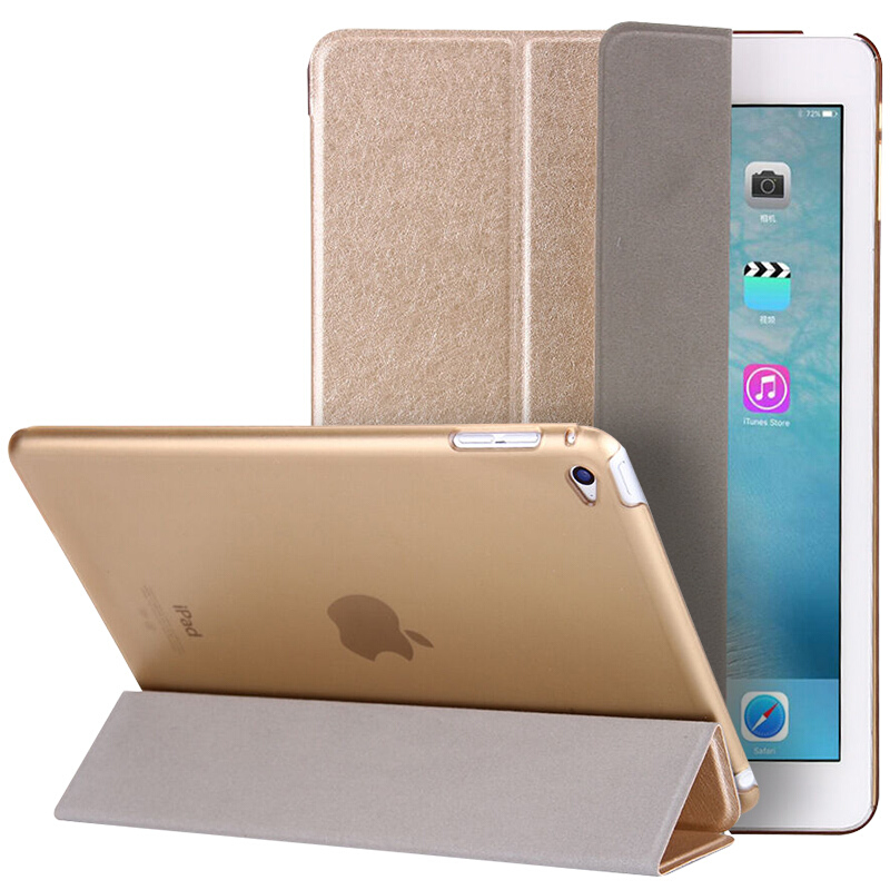 Wholesale Magnetic Smart Cover For Ipad Air 2 Premium Quality Folding Design Ultra-Thin PU Leather Case Air2 Auto On/Off