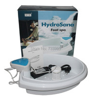 Hydrosana foot spa include blue controller,foot basin, power adapter and ion array