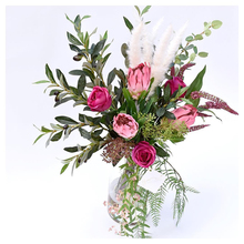 artificial flower Silk single Emperor choose European style wedding decoration for home garden hotel decor 65cm 1pcs
