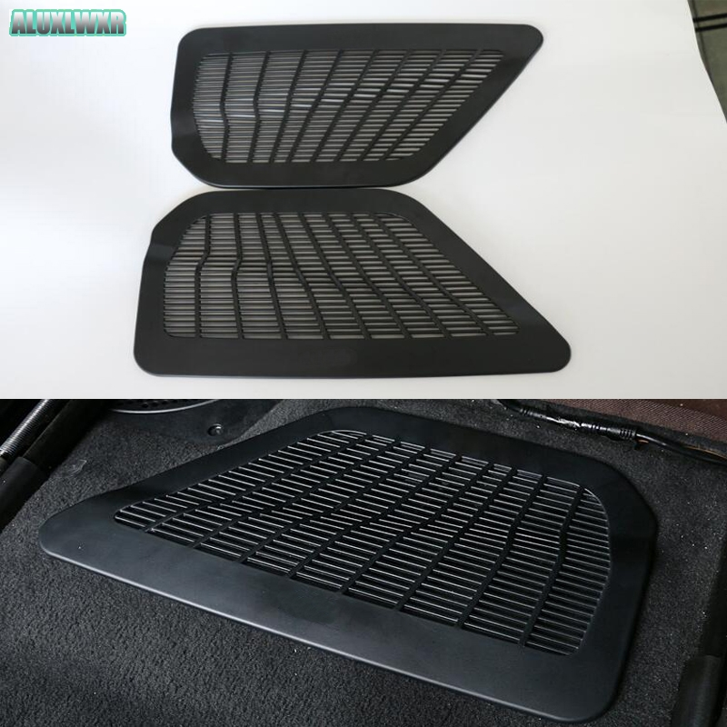 Seat AC Heat Floor Air Conditioner Duct Vent Outlet Grille Cover For BMW 5 Series F10 G30 G31 Sedan 2012-2018 Car Accessories