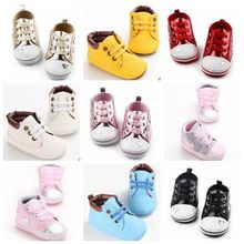 Hot Selling Fashion Newborn Baby Kids PU Leather Soft Soled Shoes First Walkers Infant Toddler Girls Boys Footwear Shoes Booties