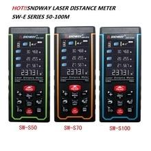 SNDWAY Laser Rangefinder SW-S Distance Meter 100M 70M 50M Range Finder SW-S100 SW-S70 SW-S50