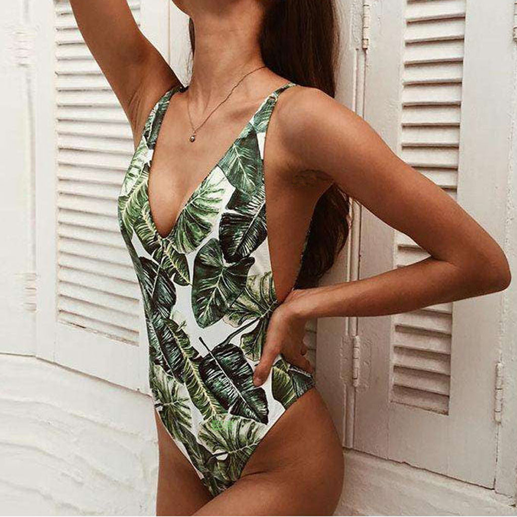 <font><b>2018</b></font> New <font><b>One</b></font> <font><b>Piece</b></font> <font><b>Swimsuit</b></font> <font><b>Sexy</b></font> Cartoon Printed <font><b>Swimwear</b></font> <font><b>Women</b></font> Bathing Suit Beach Backless Monokini <font><b>Swimsuit</b></font> Female image