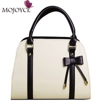 MOJOYCE Brand Women Handbag PU Leather Women Big Shoulder Bags Zipper Floral Ladies Bag High Quality