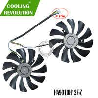 Novo 85mm HA9010H12F-Z 4pin substituição do ventilador refrigerador para msi gtx 1060 oc 6g gtx 960 P106-100 p106 gtx1060 gtx960 fã da placa gráfica