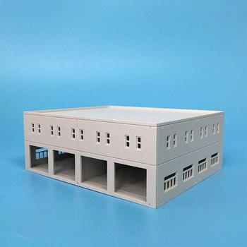 1/87 Ho 1/150 N Scale Sand Table Factory Building Model Train Plastic Assembled Scene Architecture Decoration Kits