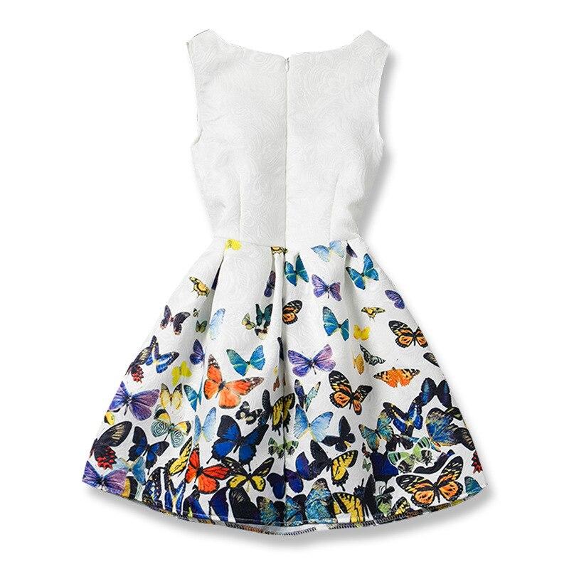 Kids Girls Dresses Butterfly Sleeveless Princess Dresses for Kids Clothes Baby Girl Tutu Dress Fashion Kids Clothing Vestidos 2