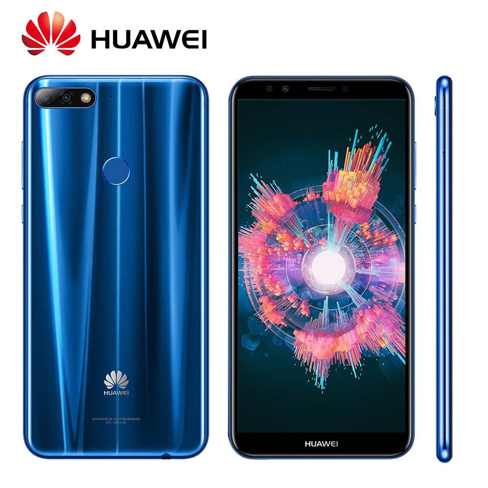 Global ROM huawei наслаждаться 8 Y7 Prime 2018 отпечатков пальцев 3000 мАч Android 8,0 Octa Core двойной камеры заднего 4G LTE Мобильного Телефона