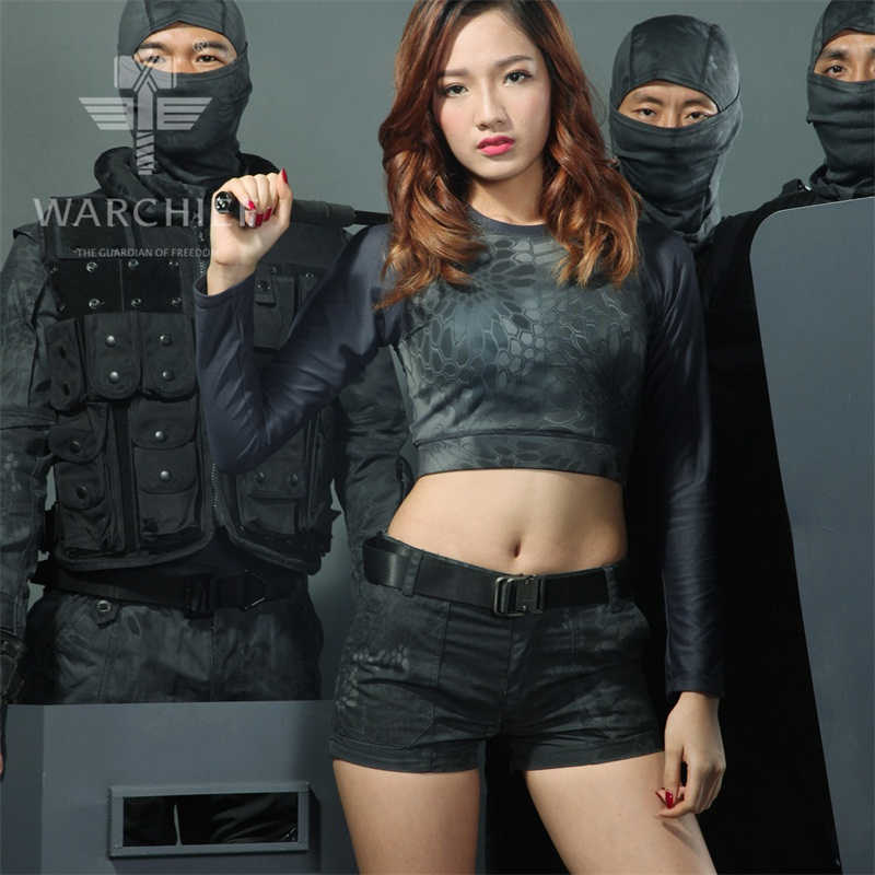 Typhon Rip-Stop Woman hot Shorts Policewoman patrol Shorts Women Typhon Tactical ShortsCamoufalge