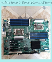 Fast Ship S5520HC Integrated Xeon LGA1366 X58 For Intel S5520HC Original Dual LGA1366 SATA DDR3 Server