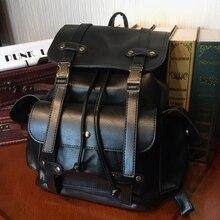 Etonweag бренд Рюкзаки для подростков Обувь для девочек черный Винтаж Школьные сумки для подростков Мода шнурок мешок опрятный путешествия рюкзак