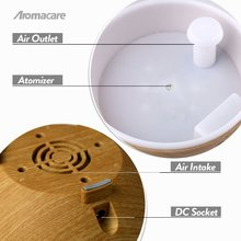 600ml  Dark & Light Wood Grain Essential Oil Diffuser – Extra Large Aromacare Aromatherapy Air Humidifier Nebulizer Mist Machine – FREE SHIPPING