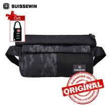 Suissewin Big Waist Bag Men Multi-pocket Fanny Pack Femme Girls Belly Bag Men's Camouflage Wasit Pack Student Bag sne1606
