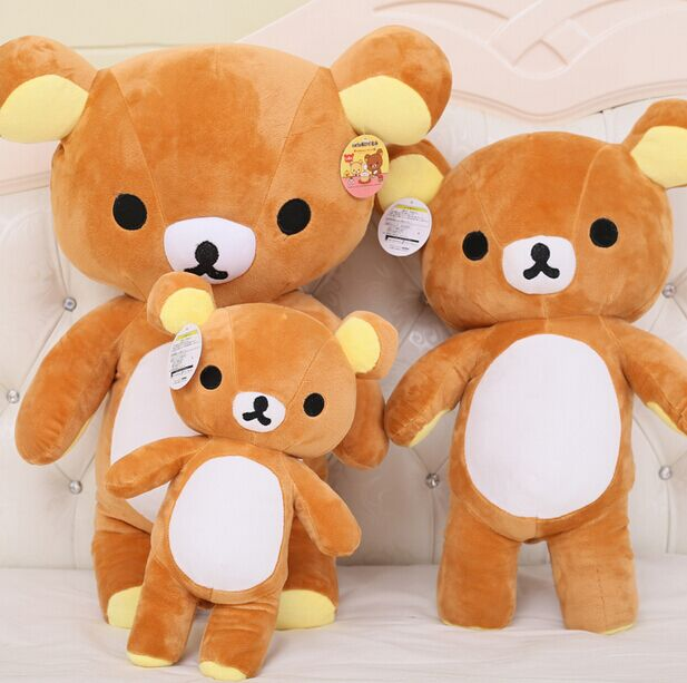 35cm Janpanese kawaii rilakkuma plush, cute japanese stuffed animals doll, rilakkuma pillow, japanese teddy bears plush toy doll brand new pokemon soft stuffed plush doll mew 12inches janpanese anime