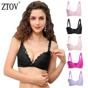 ZTOV سترة الرضاعة الطبيعية التمريض حمالات الصدر لتغذية القطن النوم الصدرية الملابس للنساء الحوامل الحمل الملابس الداخلية الملابس
