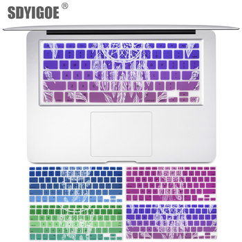 US Keyboard Cover For Macbook Air Pro Retina 13 15 Laptop Protector case For apple iMac Laptop 13.3 15.4 dream series цена 2017