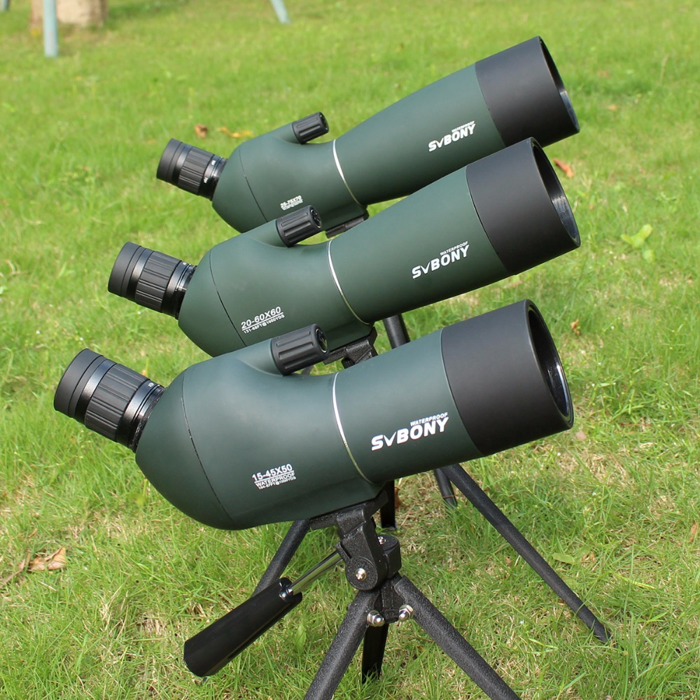 Spotting Scope SV28 Telescope Zoom 50/60/70mm Waterproof Birdwatch Hunting Monocular & Universal Phone Adapter Mount SVbonyF9308 цена