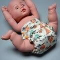 Carvão de bambu aio JinoBaby couche lavable-fralda de pano do bebê para Bebês