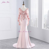 New Arrival Mother Of The Bride Dresses Sleeves Floor Length Pink And Red Color Dress With