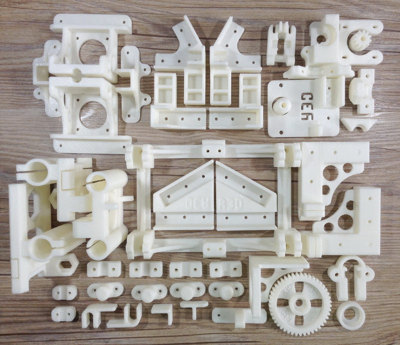 NEW OB1 4 Open Beam 3D Printer ABS Plastic Parts Set Printed Parts Kit Free Shipping