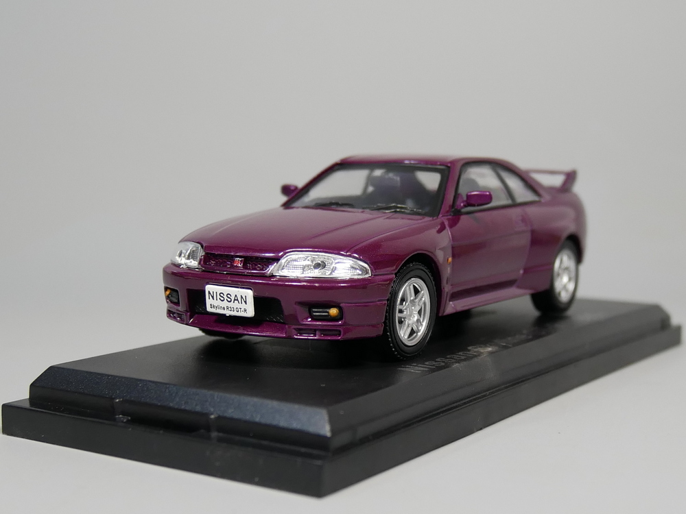 Auto Inn - NOREV 1:43 Nissan Skyline GT-R 1995 Diecast model car autoart 1 18 nissan alto skyline nismo s1 alloy model car href