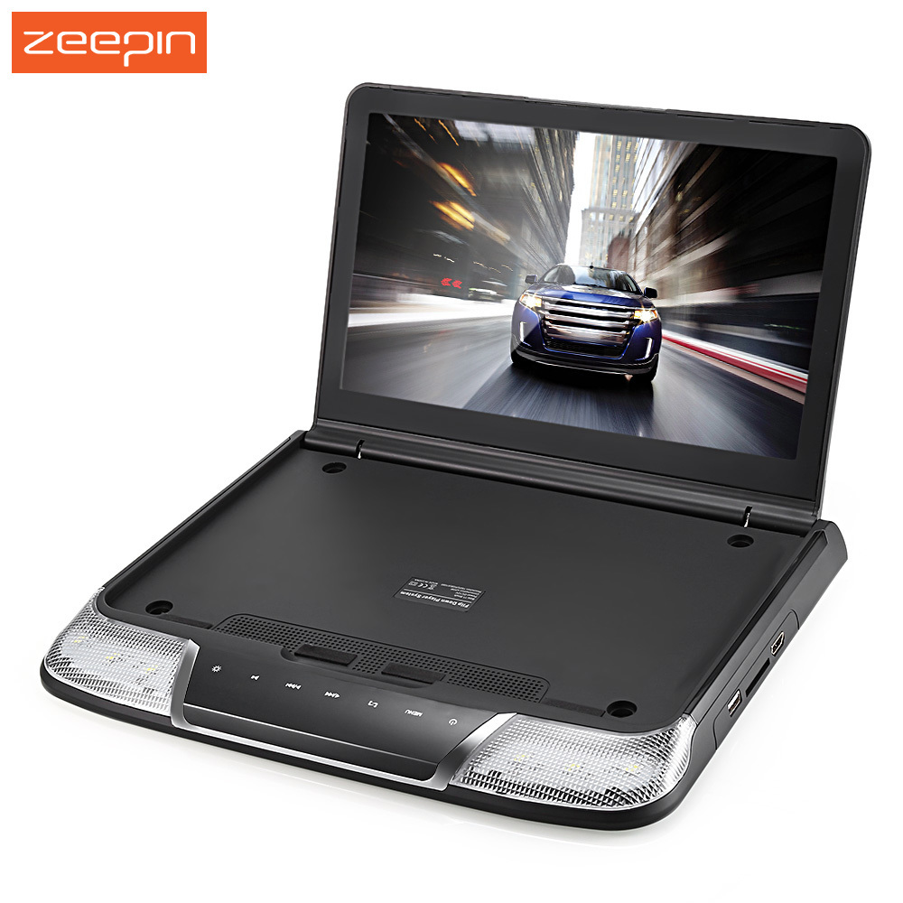 Zeepin 11.6 Inch 1080P OS - 1165M Roof Mount Car Multimedia Player USB IR FM Transmitter Built-in Double Dome LED Lights