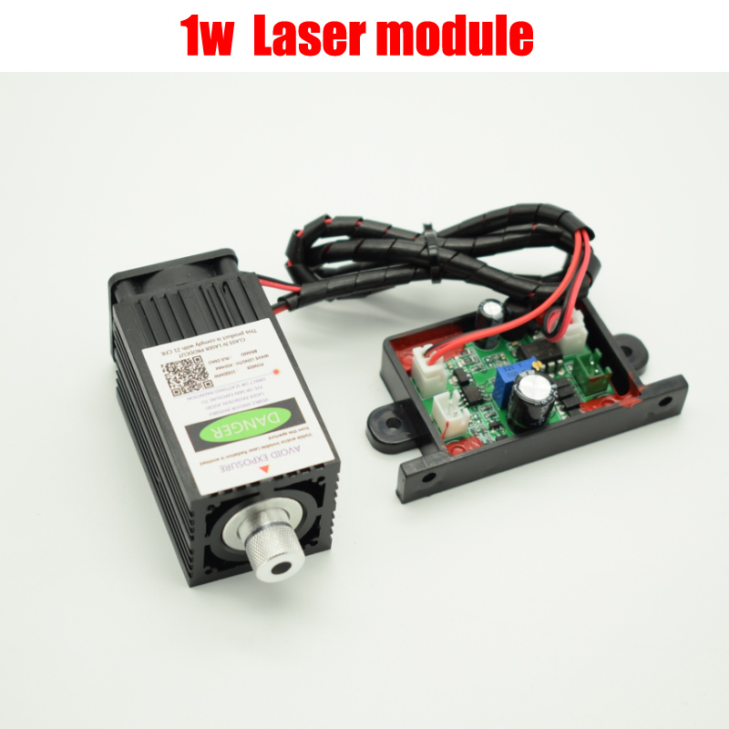 1000mw 450NM focusing blue laser module engraving TTL module 1w laser tube Laser module diode 15w laser module 450nm focusing blue laser module laser engraving and cutting ttl module 15000mw laser tube free glasses