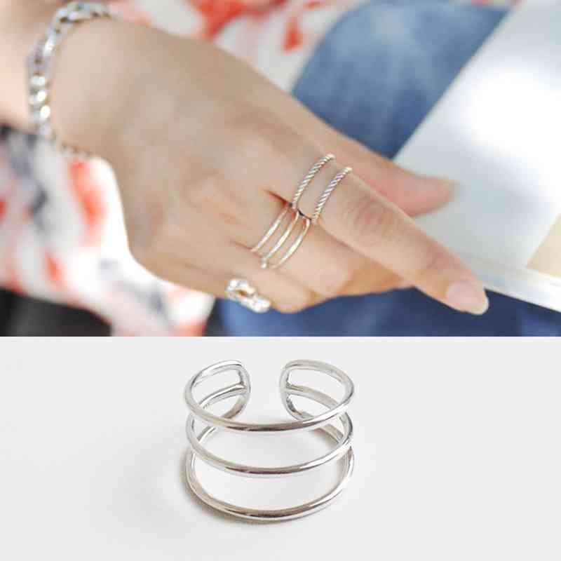 925 ασημένιο δαχτυλίδι ασήμι για τις - Κοσμήματα μόδας - Φωτογραφία 4