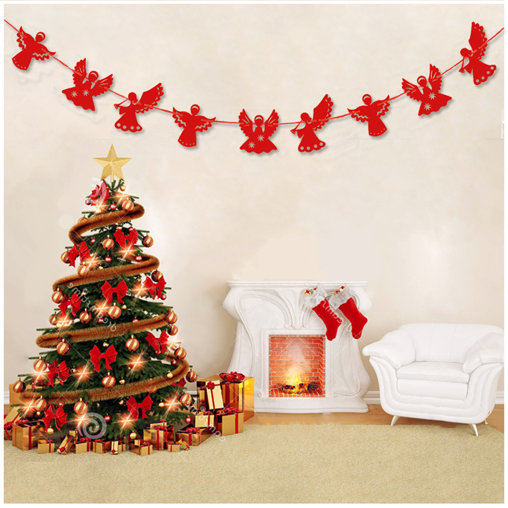 Aliexpress.com : Buy 9pcs. DIY Lovely Paper Angel Garland For ...
