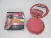 Купить с кэшбэком Brand music flower candy face mineral powder blush temptation silky touch charming color luscious shine net 8g with english name