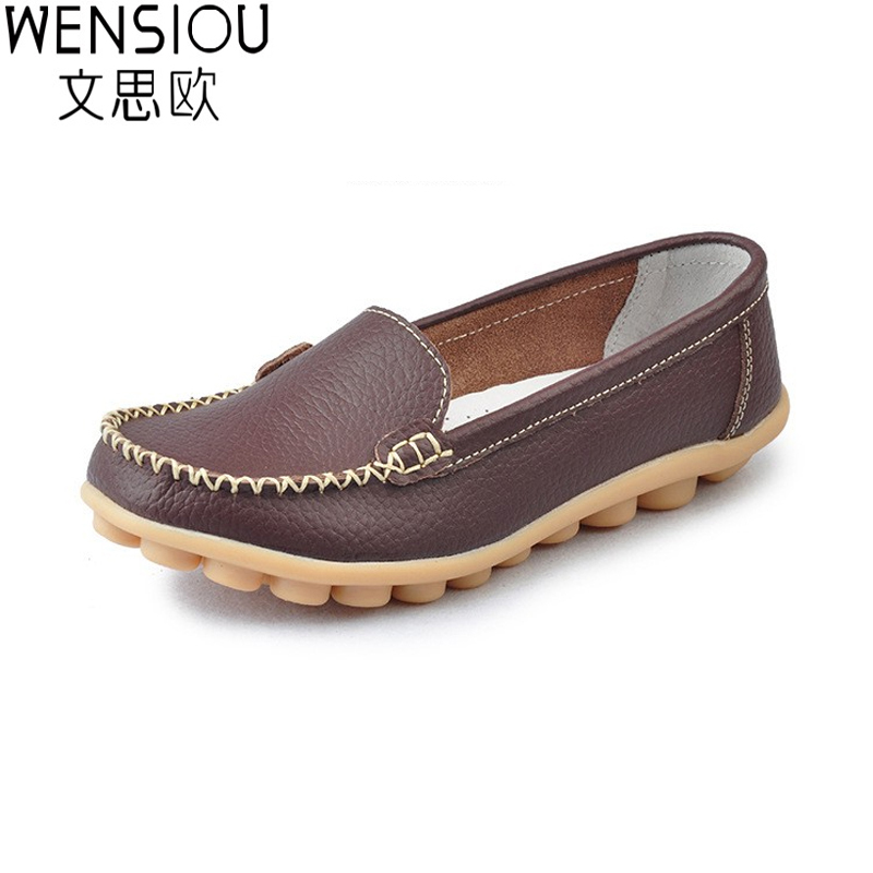 New fashion 2016 women flats comfortable skid leather women casuals shoes summer style flat shoes loafers   DT2044 flats new women s shoes in spring and summer 2017 will be able to make comfortable and sweet flat footed women s shoes